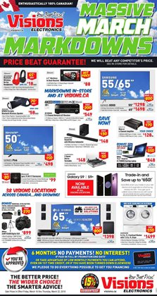 Electronics & Appliances offers in the Visions Electronics catalogue in Vancouver