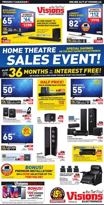 Electronics & Appliances offers in the Visions Electronics catalogue in Prince George