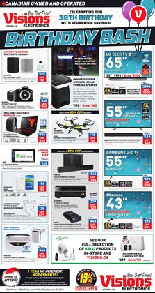 Electronics offers in the Visions Electronics catalogue in Regina