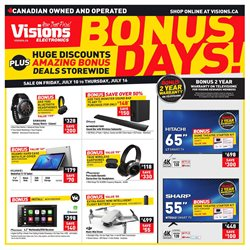 Electronics offers in the Visions Electronics catalogue in Prince George ( 2 days ago )