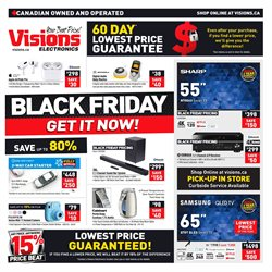 Black Friday deals in the Visions Electronics catalogue ( 1 day ago)