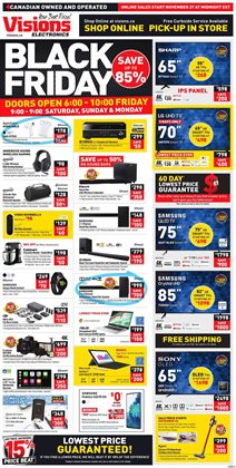 Electronics offers in the Visions Electronics catalogue in Victoria BC ( Expires tomorrow )