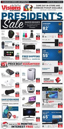 Electronics deals in the Visions Electronics catalogue ( Expires tomorrow)