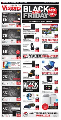 Electronics deals in the Visions Electronics catalogue ( Expires today)