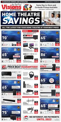 Electronics deals in the Visions Electronics catalogue ( 4 days left)