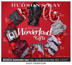Hudson's Bay deals in the Toronto flyer