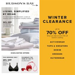 Hudson's Bay catalogue ( 3 days left )