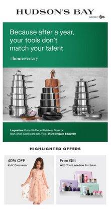 Hudson's Bay catalogue ( Expired )