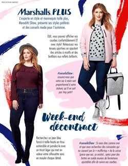 Clothing, shoes & accessories offers in the Marshalls catalogue in Montreal