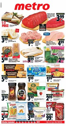 Grocery offers in the Metro catalogue in Hamilton