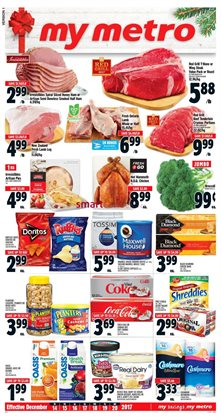 Grocery offers in the Metro catalogue in Toronto