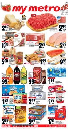 Metro deals in the Ottawa flyer