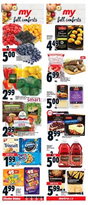 Metro deals in the Mississauga flyer