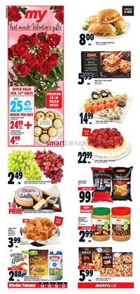 Metro deals in the North York flyer