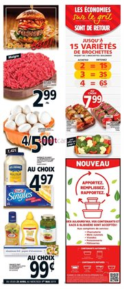 Grocery offers in the Metro catalogue in Victoriaville