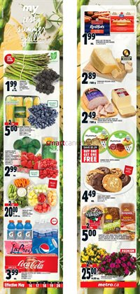 Metro deals in the Kitchener flyer