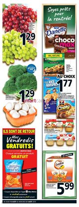 Grocery offers in the Metro catalogue in Montreal