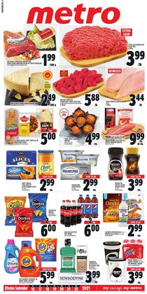 Grocery deals in the Metro catalogue ( 3 days left)