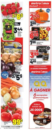 Grocery deals in the Metro catalogue ( Expires today)