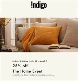 Chapters Indigo catalogue ( 3 days ago )