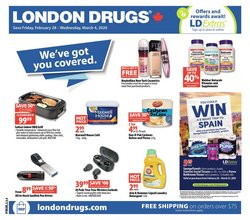 Pharmacy & Beauty offers in the London Drugs catalogue in Winnipeg ( 1 day ago )