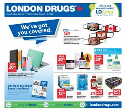 Pharmacy & Beauty offers in the London Drugs catalogue in Edmonton ( Expires tomorrow )
