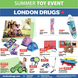 Pharmacy & Beauty deals in the London Drugs catalogue ( 6 days left)