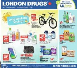 Pharmacy & Beauty deals in the London Drugs catalogue ( Expires tomorrow)