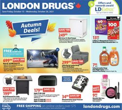 Pharmacy & Beauty deals in the London Drugs catalogue ( 2 days left)