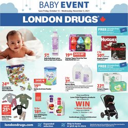 Pharmacy & Beauty deals in the London Drugs catalogue ( 16 days left)
