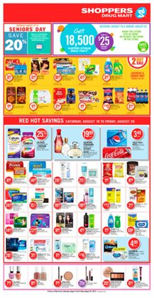 Shoppers Drug Mart deals in the Charlottetown (Prince Edward Island) flyer