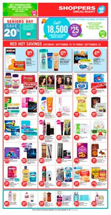 Shoppers Drug Mart deals in the Gatineau flyer