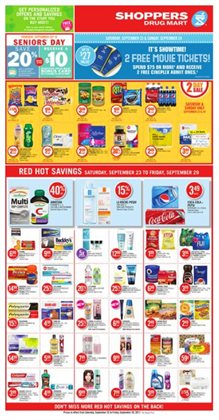 Shoppers Drug Mart deals in the Toronto flyer