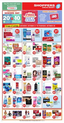 Shoppers Drug Mart deals in the Ottawa flyer