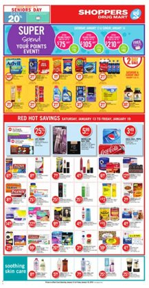 Shoppers Drug Mart deals in the London flyer