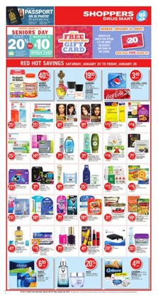 Shoppers Drug Mart deals in the Sudbury flyer