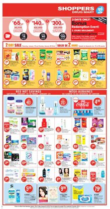 Grocery offers in the Shoppers Drug Mart catalogue in Victoriaville