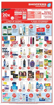Shoppers Drug Mart deals in the Châteauguay flyer