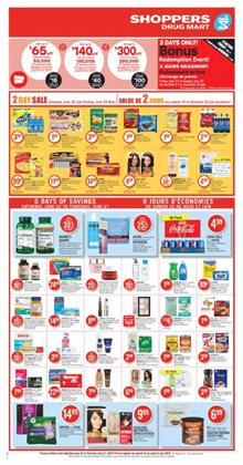 Shoppers flyer