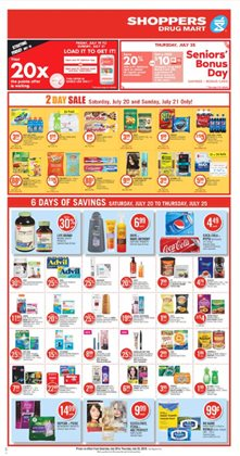 Shoppers Drug Mart deals in the Saint-Hyacinthe flyer