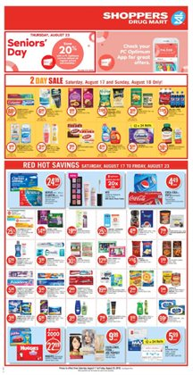 Shoppers Drug Mart deals in the Montreal flyer