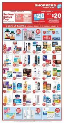 Grocery offers in the Shoppers Drug Mart catalogue in Toronto