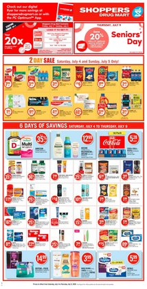 Shoppers Drug Mart catalogue in Chatham-Kent ( Expires today )