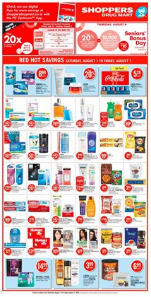 Shoppers Drug Mart catalogue in Ottawa ( Expires tomorrow )