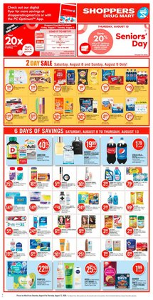 Shoppers Drug Mart catalogue ( Expires tomorrow )