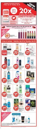 Grocery deals in the Shoppers Drug Mart catalogue ( Published today)