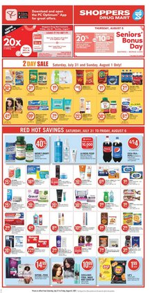 Grocery deals in the Shoppers Drug Mart catalogue ( 3 days left)