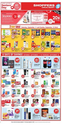 Shoppers Drug Mart deals in the Shoppers Drug Mart catalogue ( Expired)