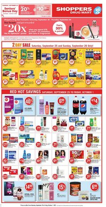 Grocery deals in the Shoppers Drug Mart catalogue ( 4 days left)
