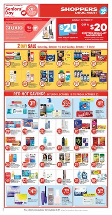 Shoppers Drug Mart deals in the Shoppers Drug Mart catalogue ( 3 days left)